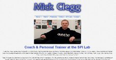 Mick Clegg's website (Former Manchester United Power Development Coach 2000-2011)  I am the website manager