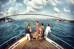While in Istanbul don't miss a cruise on the Bosphorus. A boat tour in Istanbul is something really magical. Istanbul Guide, Istanbul Tours, Istanbul City, Istanbul Travel, Empress Of The Seas, Bosphorus Bridge, Cruise Packages, Cheap Cruises, See World