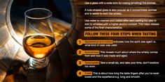 Whiskey tasting tips - from Checkers huge collection of world whiskeys at supermarket prices.