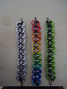soda can tab bracelets