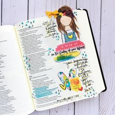 hybrid Bible Journaling entry by Bailey Jean Robert Scripture Doodle, Scripture Art, Bible Art, Bible Quotes, Art Journaling, Bible Study Journal, Faith Bible, My Bible, Lds Scriptures