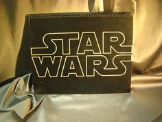 Repurposed Album Cover Drawing Sketch Books  Star Wars by ReSpinIt, $12.00