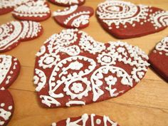 Paisley cookie