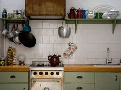 cuisine vintage...