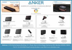Great News!! Americas Top Brand ANKER specializing in Power Banks and Chargers is now available in India with S R BROTHERS. High quality! Latest technology! Grab this opportunity! More Power to you! Email us now at info@srbrothers.com for all details. #anker #powerbanks #chargers #highquality