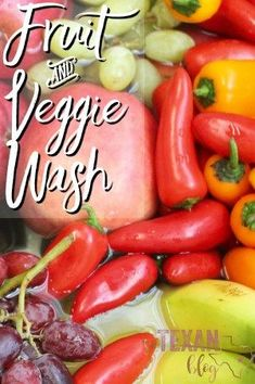All-Natural Fruit and Veggie Wash with doTERRA Essential Oils