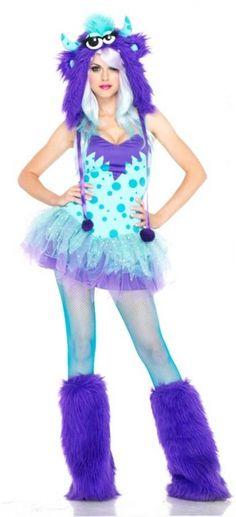 Purple Monster Costume - Sexy Costumes
