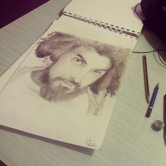 #Caparezza #MicheleSalvemini #Portrait #Pencils