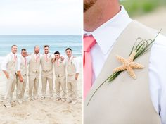 Outer Banks Beach Wedding Inspiration Teal and Coral