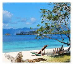 Banana Island (Coron, Palawan) Philippines by lrap1973, via Flickr #Beach #Philippines