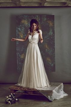 Win £1000 Towards Your Wedding Dress With Churchgate Porter | Love My Dress® UK Wedding Blog >> http://www.lovemydress.net/blog/2015/03/win-1000-towards-your-wedding-dress-with-churchgate-porter.html Sharon Hoey wedding dress available at Churchgate Porter.