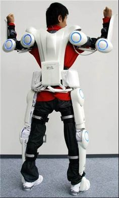 The world's first cyborg–type robot - Cyberdyne Hal robotic exoskeleton to help paralyzed - Photos: Cyberdyne Hal robotic exoskeleton to help paralyzed
