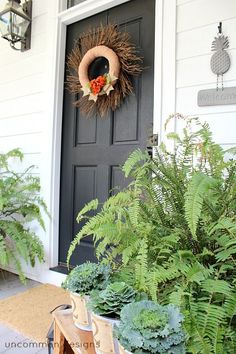 Fabulous Fall Front Porch Ideas