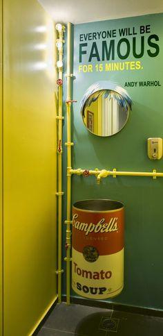 Arquitetura do Imóvel : Banheiros diferentes me atraem!