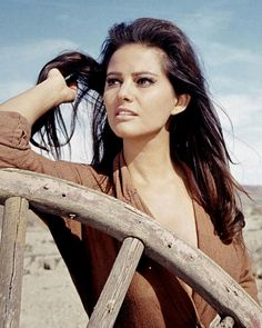 "modbeatnik: ""Claudia Cardinale in Once Upon a Time in the West, 1968 """