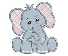 25+ best ideas about Elephant Applique on Pinterest | Elephant ...