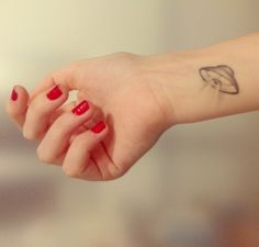 tiny ufo tattoo - Google Search