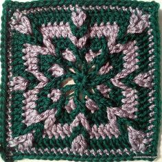 Jake's Blankie CAL ~ Week #1: Jacob's square - free crochet pattern by Jessie at Home