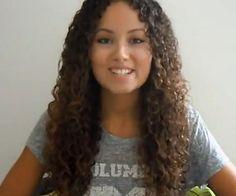 Routine capillaire beaux cheveux bouclés, au natureles5