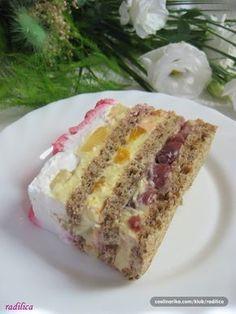 Sweets Recipes, Fruit Recipes, Cheesecake Recipes, Baking Recipes, Desserts, Torte Recepti, Kolaci I Torte, Torta Recipe, Torte Cake