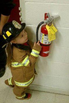 My little fire inspector