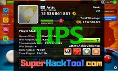 8 Ball Pool Hack and Cheats - How to Get Free Cash and Coins(iOS and Android) Working 8 Ball Pool Hack - 8 Ball Pool Cash and Coins Cheats 8 Ball Pool Hack ? Get Cash and Coins… Pool Coins, Pool Hacks, App Hack, Android, Free Cash, Hack Online, Soccer Training, Mobile Legends, Mobile Game