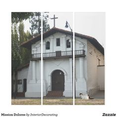 Liven up the walls of your home or office with Mission Dolores art from Zazzle. Check out our great posters, wall decals, photo prints, & wood wall art. Triptych Wall Art, Panel Wall Art, Wall Art Sets, Wood Wall Art, Framed Artwork, Illusions, Wall Decals, House Styles, Prints