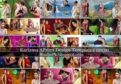 Karizma Album Design Psd Templates 12x30