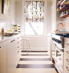 cocina rectangular pequea - Cocinas Rectangulares