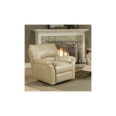 Omnia Leather Mandalay Leather Recliner Upholstery: Dream - Espresso