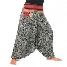 Aladinhose aus Rayon - Ethno