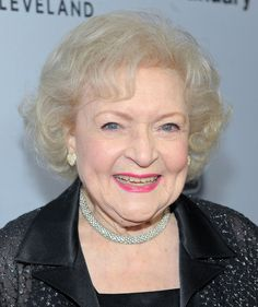 Lovely Lady ..... Betty White is a Capricorn!