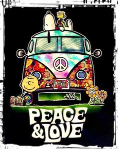 Snoopy ✌ Peace and Love