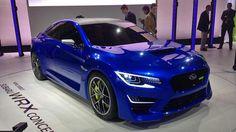 Subaru WRX Concept stuns, but what lies beneath?   Motoramic - Yahoo! Autos