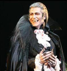 Jan Ammann as Graf von Krolock (Count Krolock) in Dance of the Vampires.