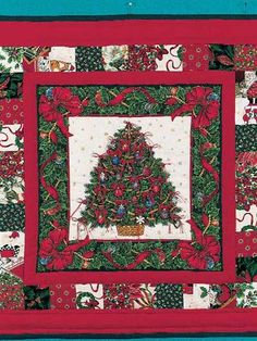 Button Ornaments Advent Wall Quilt
