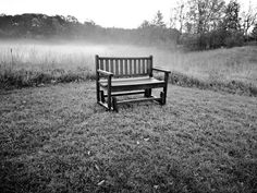 Check out this item in my Etsy shop https://www.etsy.com/listing/479746868/fog-bench-photo-black-and-white-print