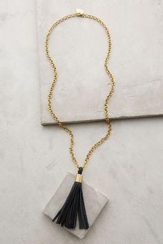 Hedda Tassel Necklace #anthrofave