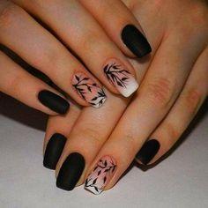 beautiful colorful nail design ideas for spring nails 2018 - nagel-design-bilder.de - beautiful colorful nail design ideas for spring nails 2018 # Nail design # Spring nails The Eff - Matte Nail Art, Best Acrylic Nails, Stylish Nails, Trendy Nails, Short Nail Designs, Nail Art Designs, Nails Design, Simple Nail Design, Black Nail Designs