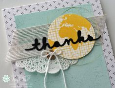 Global Thanks close up