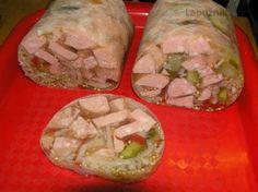 Utopenci v aspiku Slovak Recipes, Czech Recipes, Ethnic Recipes, Yummy Appetizers, Fresh Rolls, Starters, Tacos, Pork, Food And Drink