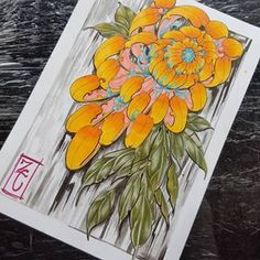Really want to do this as a tattoo if theres anyone interested give me a shout will do a super price of 50 per hr just for the pic for my portfollio Japanese Flower Tattoo, Japanese Flowers, Chrysanthemum Tattoo, Dibujos Tattoo, Asian Tattoos, Peonies Tattoo, Japan Tattoo, Oriental Tattoo, Irezumi Tattoos