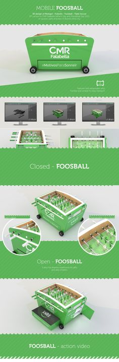 Mobile Foosball (Metegol) on Behance