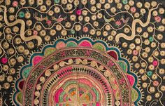 Miao Embroidered Textile by Anonymous (Chinese Textile)