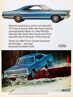 Ad for 1967 Ford