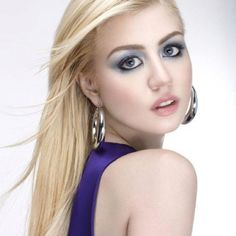 This was her cover girl shot in the ANTM all stars. They were selling eye shadow and she totally sold it.