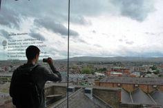 Wicklow Mountains: view from Guinness Storehouse, Dublin, Ireland - Photo: Melissa Becker