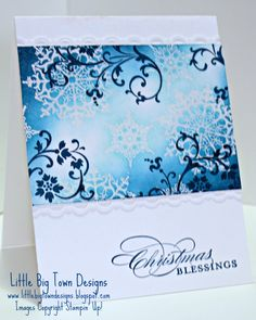 Icy Snowflake Soiree - simple execution with great impact