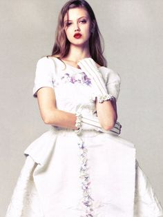 """Lindsey Wixson in """"Grand Entrance"""" photographed by Stockton Johnson & Li Qi for Vogue China, January 2013"""