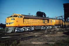The Month of Pentrex - Union Pacific's Mighty Turbines Union Pacific Train, Union Pacific Railroad, Electric Locomotive, Steam Locomotive, Heritage Train, Steam Turbine, Railroad Photography, Train Pictures, Train Tracks